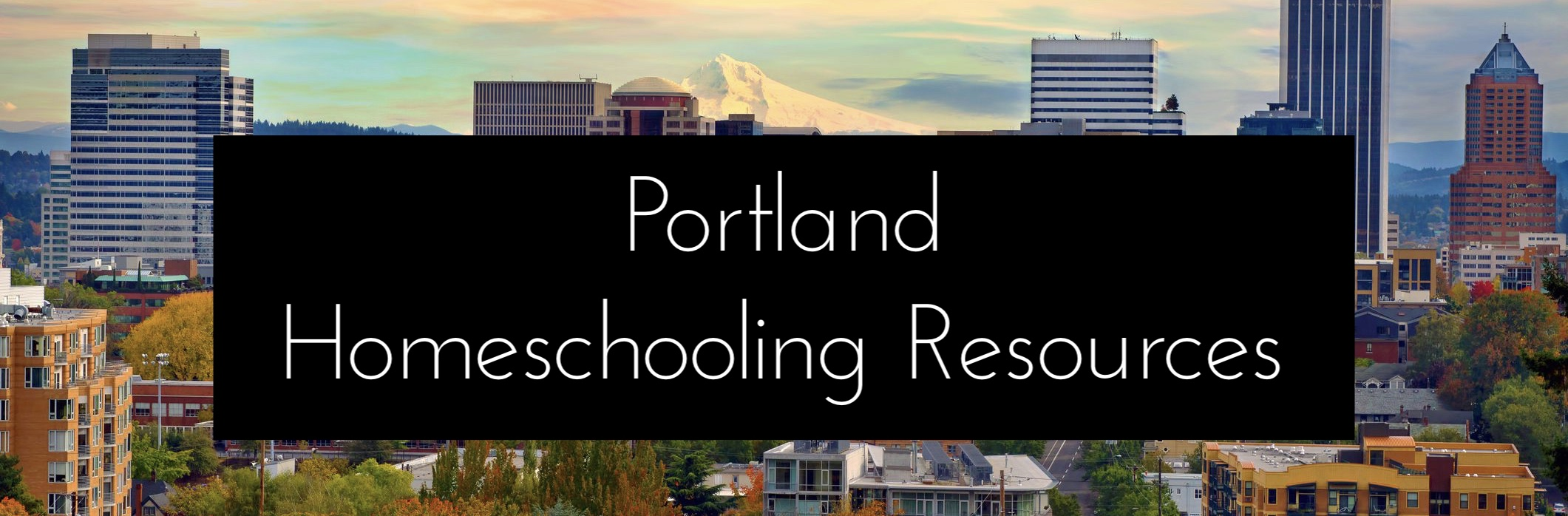 Portland Homeschooling Resources Carolyn Groves